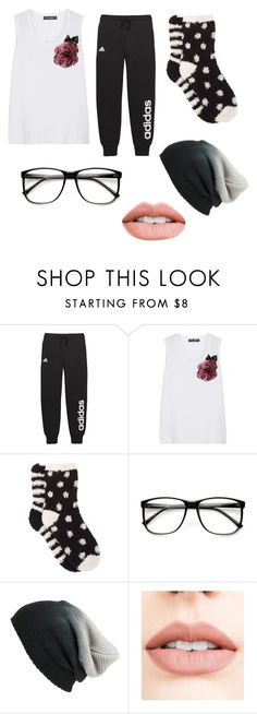 """""""Untitled #265"""" by milliegrace1479 on Polyvore featuring adidas, Dolce&Gabbana, Free Press, ZeroUV, BP. and Jouer"""