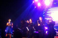 Cécile McLorin Salvant & the Amazing sextet / Jazz en Touraine – avec David Enhco, jon boutellier, Bastien Ballaz, Fred Nardin, Romain Sarron et Patrick Maradan