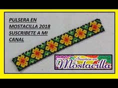 FLORES DOBLES ESTILO HUICHOL - YouTube Beading Tutorials, Beading Patterns, Making Bracelets With Beads, Beaded Bracelets Tutorial, Crochet Flower Tutorial, Bracelet Crafts, Crochet Videos, Peyote Stitch, Bead Earrings