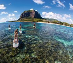 Le Morne Brabant mountain, Mauritius - 2015