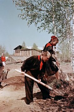 USSR, 50s by Semen Fridlyand