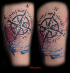 Unterarm #tattoorosenheim #tattoochris #forlifecolor #colorink #aquarell #ink #kompass #rosenheim #raubling #chris #instatattoo #christattoo