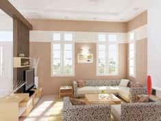 how to paint your living room to make it look bigger
