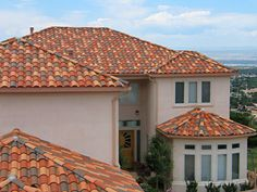 colorful-tile Colored-Roofs, roof designs