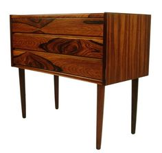 Danish Modern Rosewood Stand or Chest
