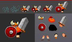 Explorando las posibilidades del programa Spine para videojuegos. Diseño de personajes con Adobe Flash/ Exploring the possibilities of the program Spine for games. Character design with Adobe Flash
