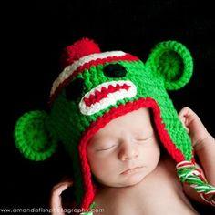 Holiday Sock Monkey