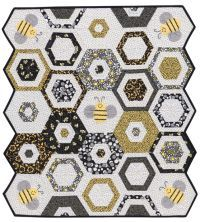 Martingale - Sew Sweet Baby Quilts - Bee Quilt - Hexagon Quilt