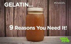 Bone Broth and Gelatin - 9 reasons you need it! Paleo, Leaky Gut, Nutrition, Health.  www.getrealliving.com.au