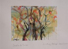 Daphne McClure - interesting watercolour