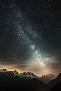 Higher than high by NiCo BoCo on Sky Full Of Stars, Stars At Night, Beautiful Sky, Beautiful Landscapes, Out Of This World, Galaxy Wallpaper, Milky Way, Science And Nature, Outer Space