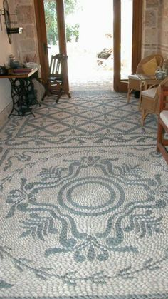 Mosaic, indoor, outdoor