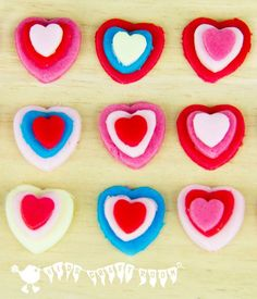CUTE VALENTINE'S DAY SWEETS - These are easy for kids to make and are super gifts to share with friends.
