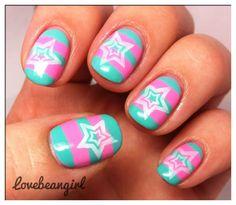 LovebeanGirl #nail #nails #nailart