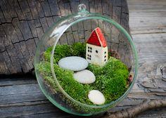 Anna Bielawska  Mini ogród www.polandhandmade.pl #polandhandmade #littlegarden #ceramikaSHE
