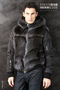 Fur Fashion, Mens Fashion, Mens Fur, Fur Coats, Furs, Parka, Winter Jackets, Classic, Outfits