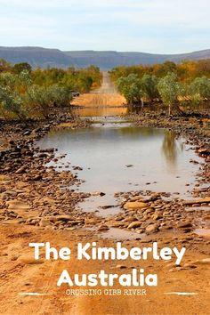 Crossing River Kimberley Australia