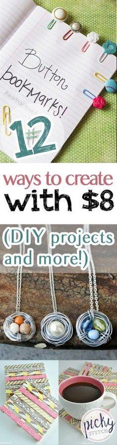 New Diy Kids Crafts Projects Dollar Stores Ideas – # - Garden Decor Crafts Dollar Store Crafts, Diy Crafts To Sell, Dollar Stores, Crafts Cheap, Dollar Dollar, Craft Projects For Kids, Diy Crafts For Kids, Diy Laden, Diy Store