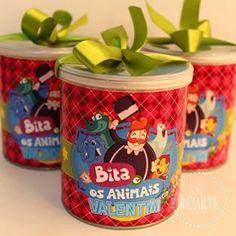 Resultado de imagem para festa mundo bita e os animais Childrens Party, Baby Party, Lucca, Coffee Cans, Dog Food Recipes, Picnic, Alice, Happy Birthday, Diy