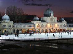 City Park, skating rink