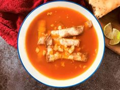 There are many varieties of Mexican Soup, with one of the most popular being Mexican Tortilla Soup. I made this one in my soup maker but you can also make it in a pan on the stove. I added some air fryer tortilla strips to dip in the soup. Spicy Recipes, Slow Cooker Recipes, Soup Recipes, Cooking Recipes, Healthy Recipes, Spicy Bean Soup, Chilli Soup, Mexican Tortilla Soup, Spanish Dishes