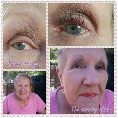 I just LOVE this picture soooo much!!!  Flutter those lovely 3D Fiber Lashes no matter what age you are. Order yours today at www.beauty-redefined.net