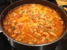 Crawfish étouffée - Fit Paleo Mom Serve over mashed cauliflower or turnip for lower carb