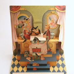 Vintage Childrens Pop Up Book Sing a Song of by efinegifts on Etsy, $18.95