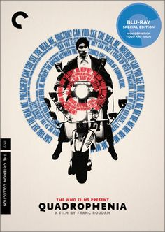 "Criterion re-issues The Who's Classic Film ""Quadrophenia."" Catnip for pop nostalgics: late-70s working class Brits, Franc Roddam's lively direction, and all that Mod fashion."