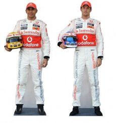 Lifesize cardboard cutout of Lewis and Jenson...could it possibly get any better??