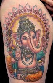 Resultado de imagen para tattoo ganesh