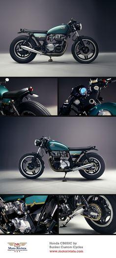 #Honda CB650C by Bunker Custom Cycles ~ featured on Moto Rivista www.motorivista.com
