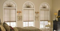 Classic & Traditional if 3 Day Blinds has these in a light filtering/room darkening silver grey, this just may be what completes the Goddess Den windows