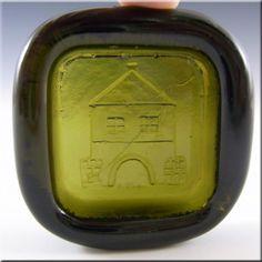PLUS Glashytta 1970s Green Glass Bowl - Richard Duborgh - £14.99