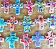 salt dough cross