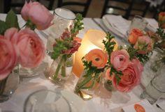 handpainted hurricane vases
