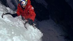 """Great ice video that shows the importance of belaying well away from the route.  """"We all try to be busy instead of being alive … move information instead of simply moving."""""""