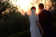 Catriona and Conor will never forget how spectacular is the sunset from Villa San Crispolto... Photo by Domenico Costabile