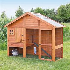 Outdoor Rabbit hutch - Bing Images