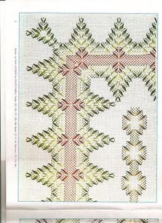 arts and crafts Swedish Embroidery, Hand Work Embroidery, Hand Embroidery Designs, Diy Embroidery, Cross Stitch Embroidery, Embroidery Patterns, Free Swedish Weaving Patterns, Monks Cloth, Weaving Designs