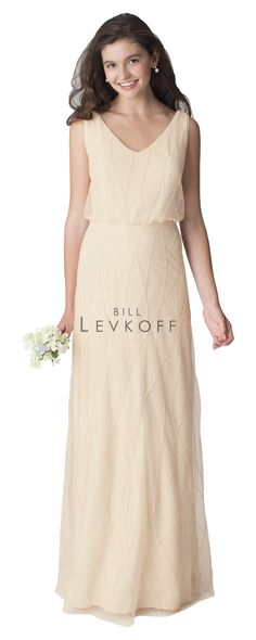 Call to set an appointment to see this bridesmaid dress by @billlevkoff! Loads of gorgeous color options and quality you can see! #bridesmaids #billlevkoff #longbridesmaid #sparklegown