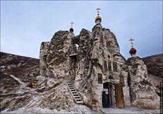 Пещеры Придонья: Костомаровский Спасский монастырь: muph