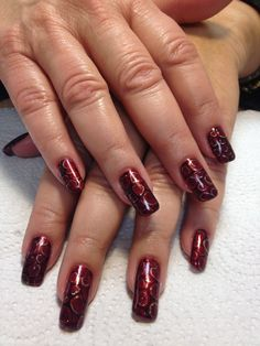 Entity gel polish nail art