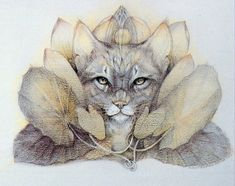 Susan Seddon Boulet...Coralie introduced me to her artwork and as a cat lover this piece is a favorite.~♥~ ~♥~ ♥~ ~♥~
