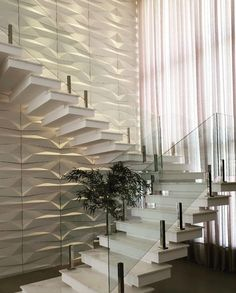 New internal stairs ideas modern ideas Home Stairs Design, Interior Stairs, Dream Home Design, Modern House Design, Staircase Wall Decor, Entryway Decor, Modern Stairs, House Stairs, Decor Interior Design