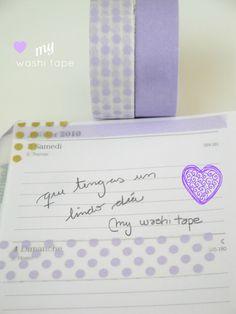 My Washi Tape: Mi Agenda!