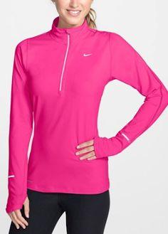 bright #pink Nike workout jacket http://rstyle.me/n/mv66rr9te