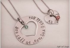 Mommy daughter neclace set