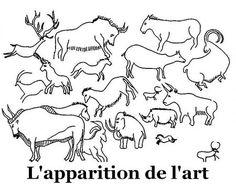 L'apparition de l'Art à la Préhistoire - Des documents pédagogiques à partager pour le cycle 3