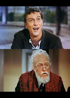 Both characters are played by Dick Van Dyke. So tell me again why this make-up didn't win any awards?